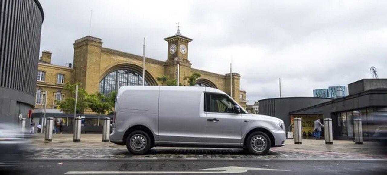Электрический фургон LEVC с увеличенным запасом хода
