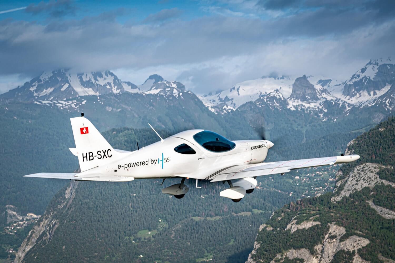 Электрический самолет Н55