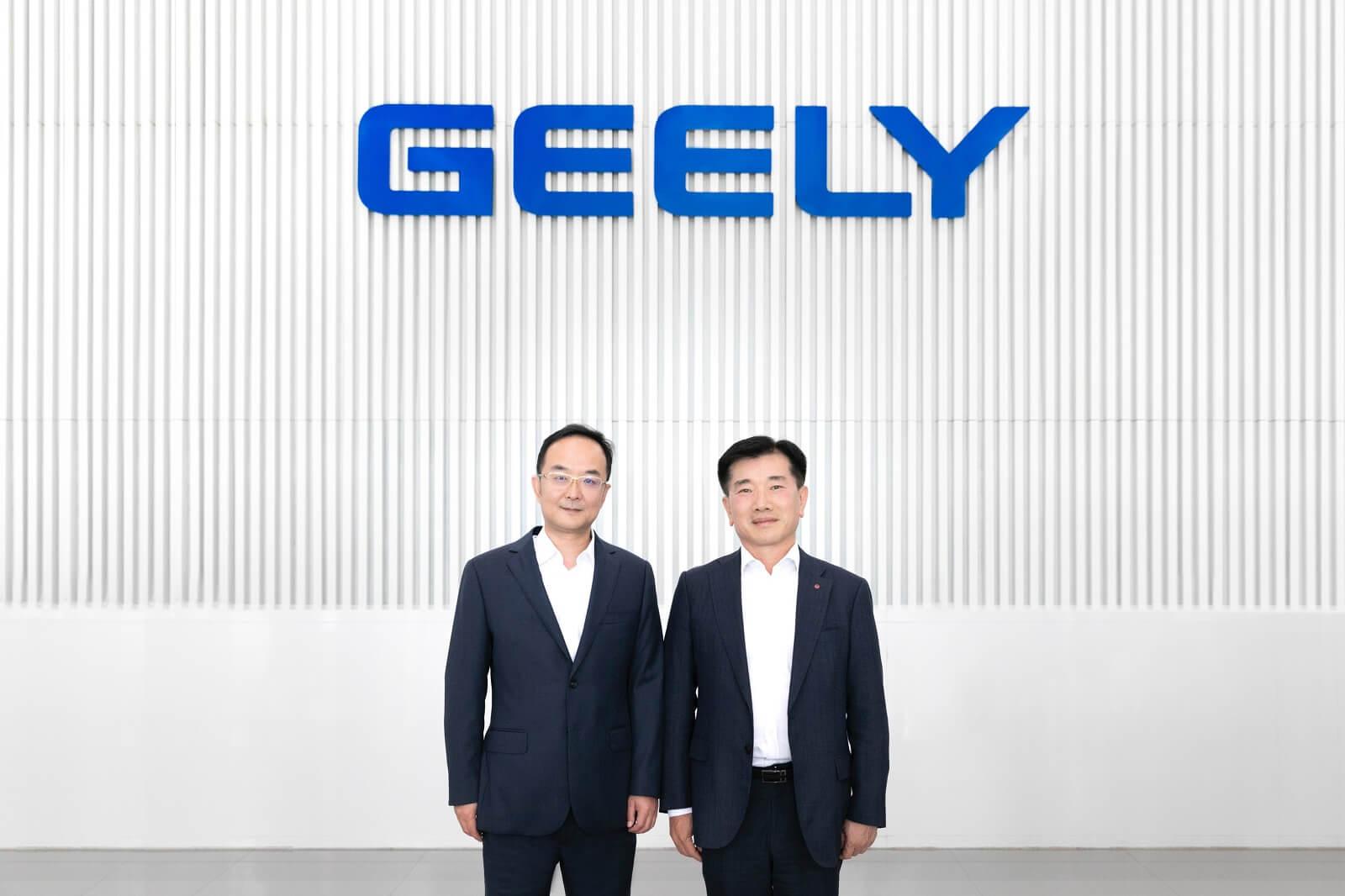 Geely иLGChem объявили осоздании совместного предприятия вКитае