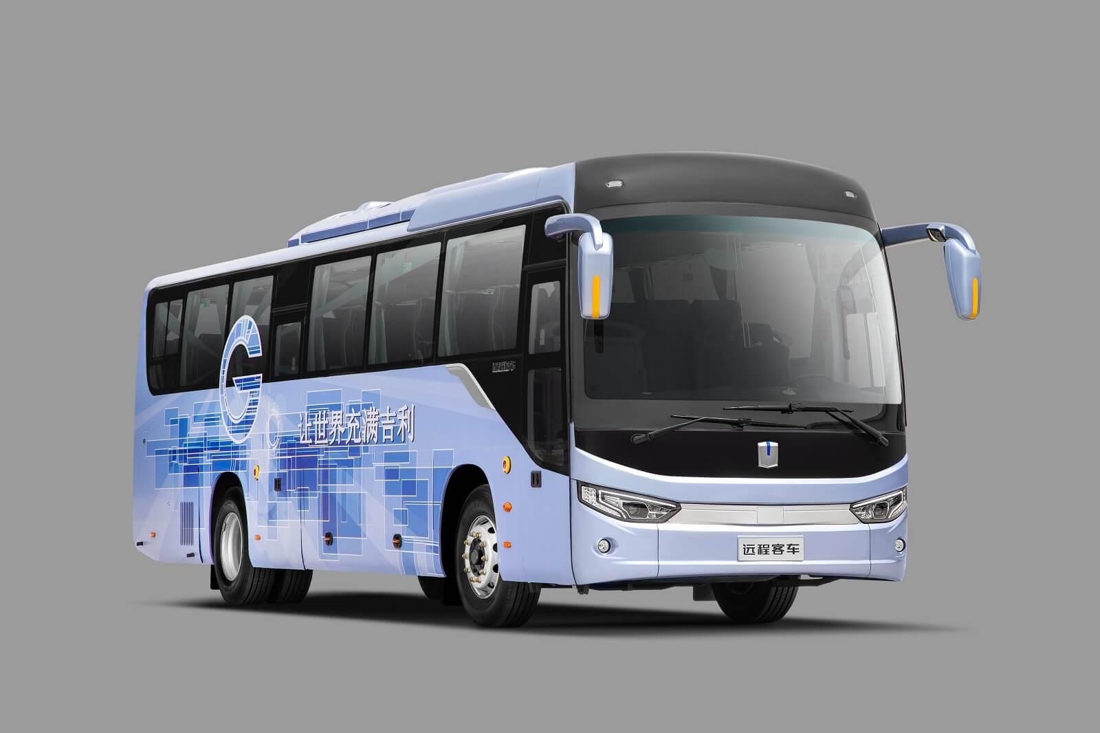 Электрический автобус Geely C11