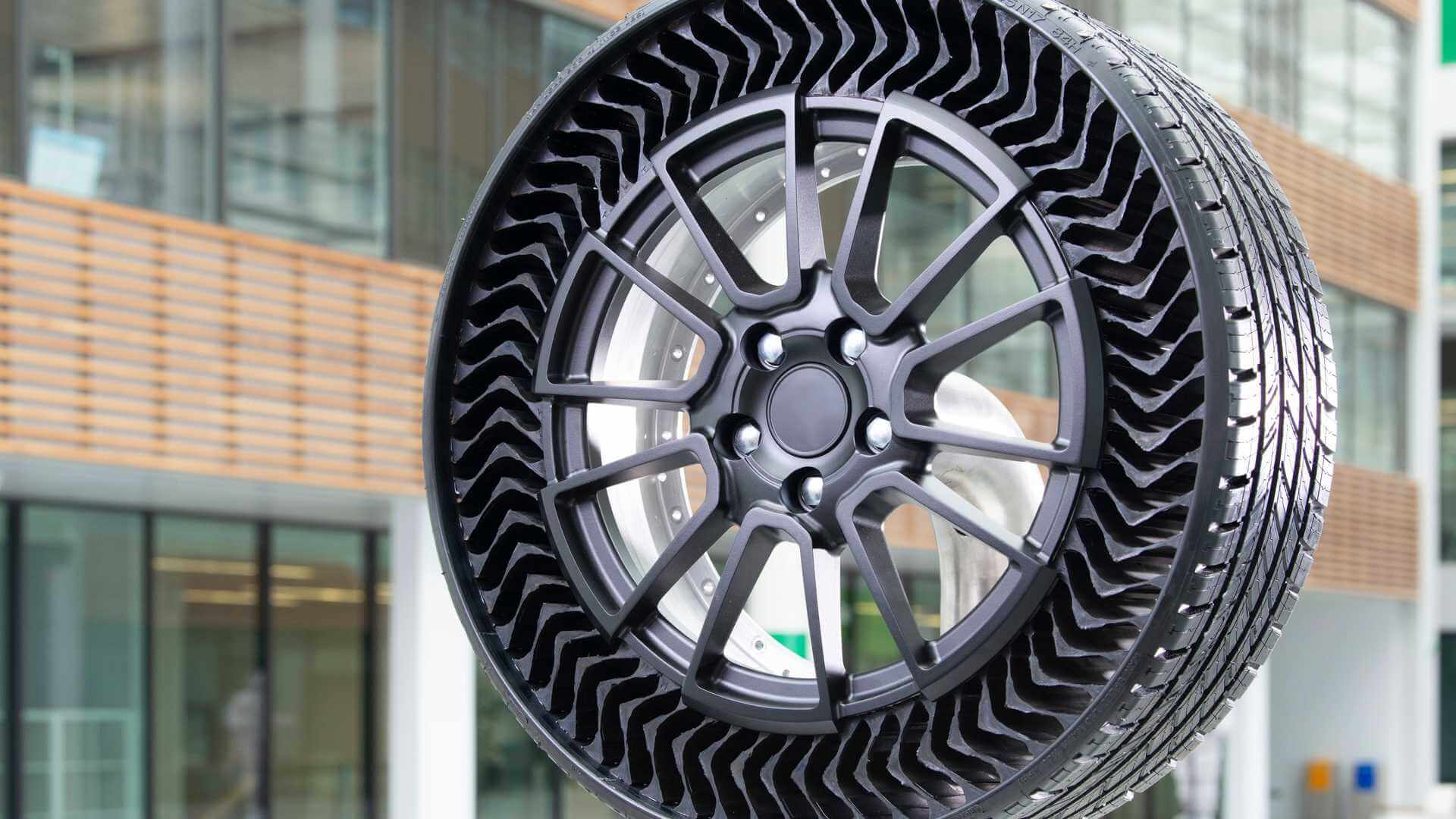 Michelin разработала безвоздушные шины Uptis Prototype