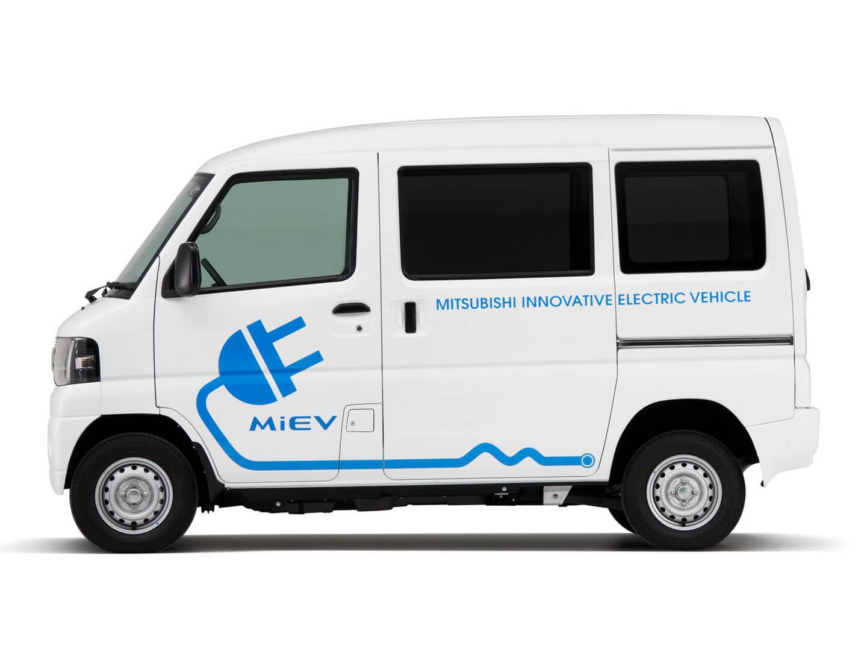 Компактный электрический фургон Mitsubishi Minicab MiEV