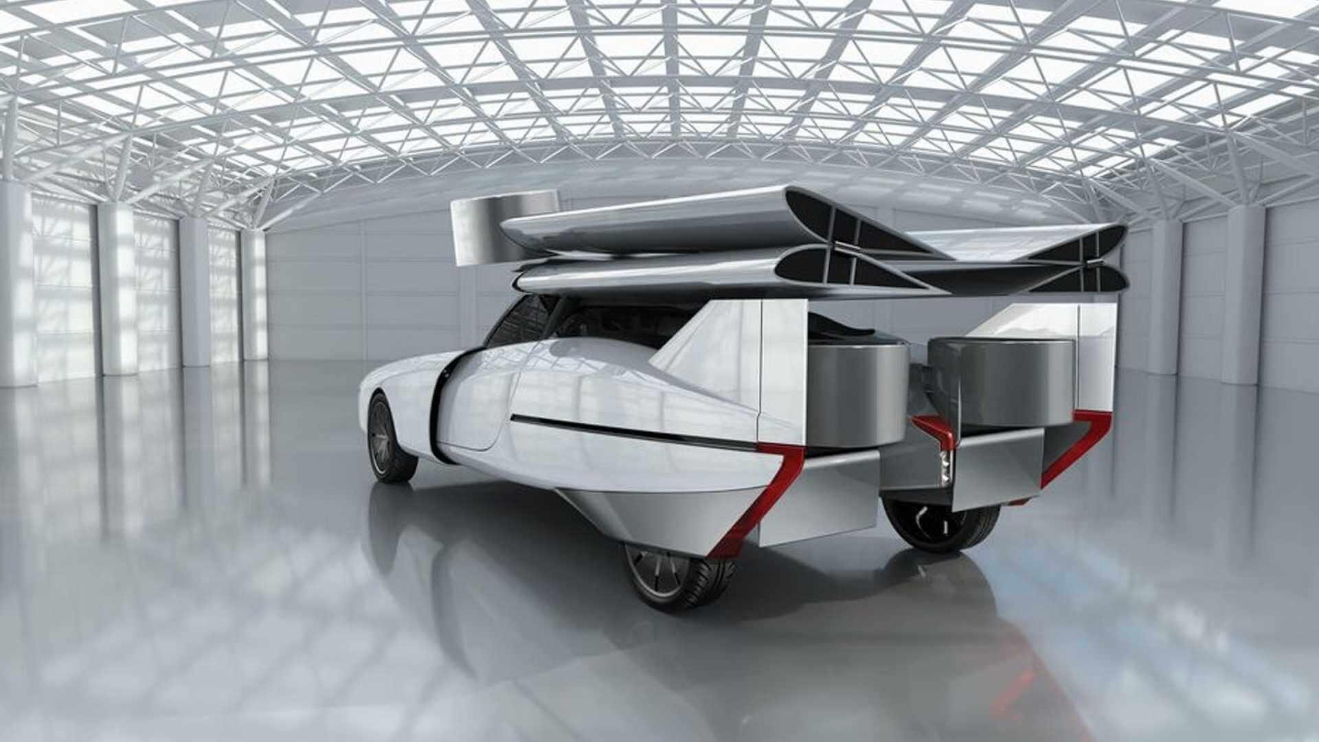 NFT разработалагибридный летающий автомобиль Aska