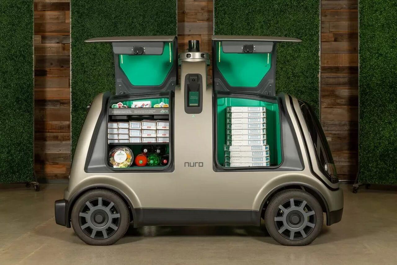 Автономный автомобиль для доставки Nuro R1