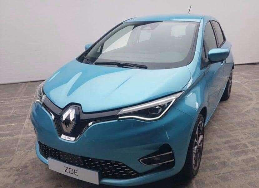 Внешность Renault ZOE 2020 рассекретили до премьеры