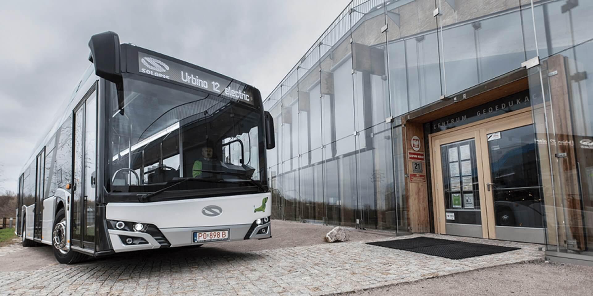 Обновленный электрический автобус Solaris Urbino 12 Electric