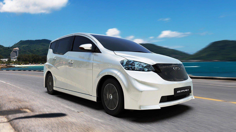 SPA1 EV от Mine Mobility: тайский 5-местный электрокар с запасом хода 200 км