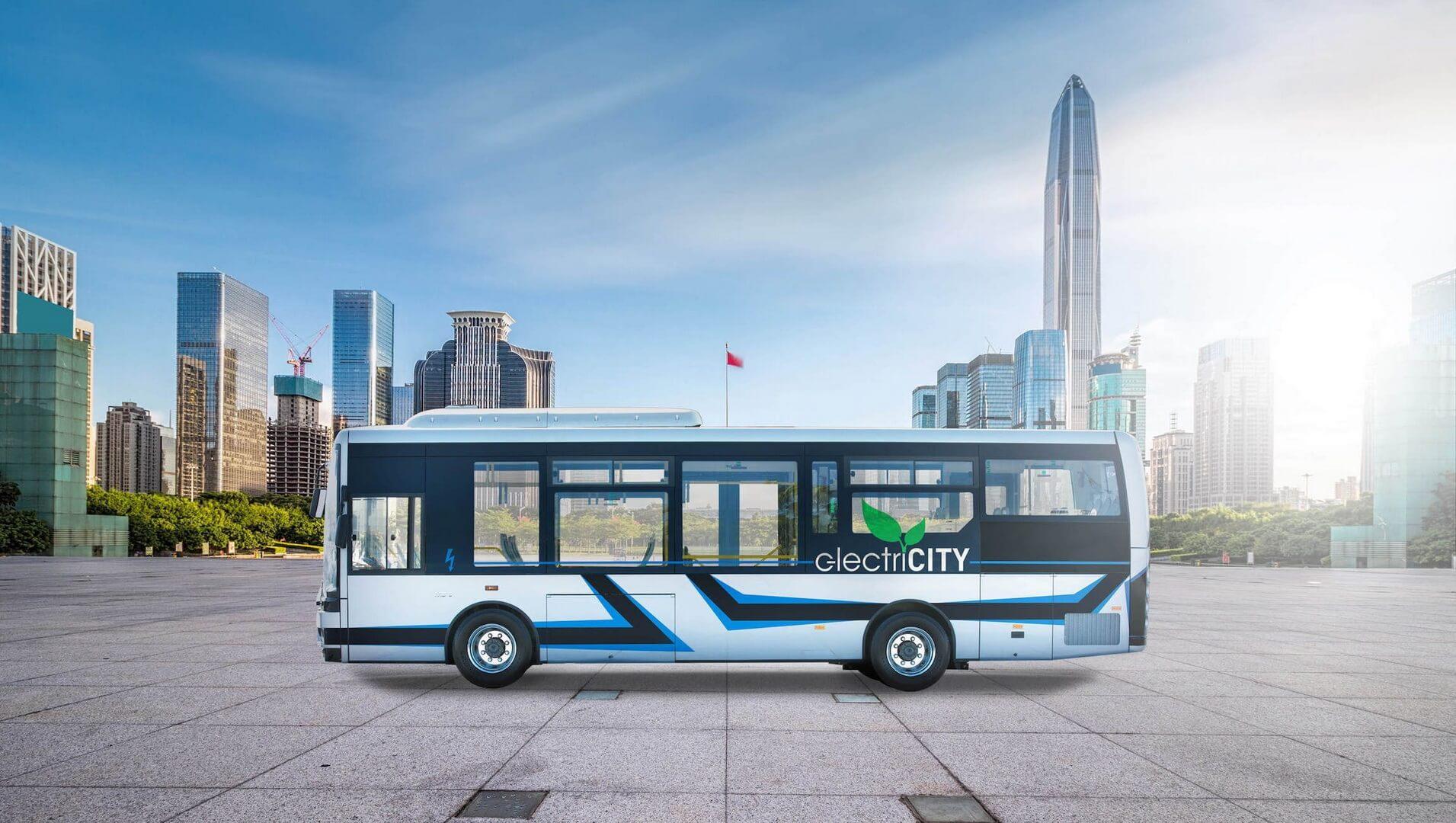 9-метровый электрический автобус MD9 electriCITY