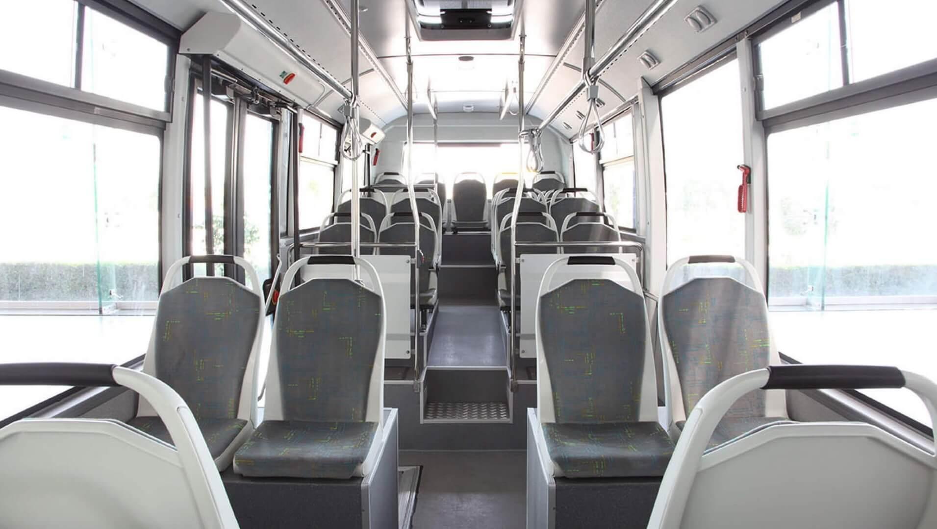 Салон электрического автобуса MD9 electriCITY
