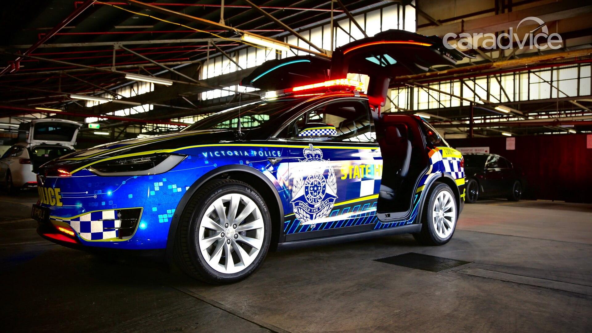 Tesla Model X стала первым электрокаром в полиции Австралии