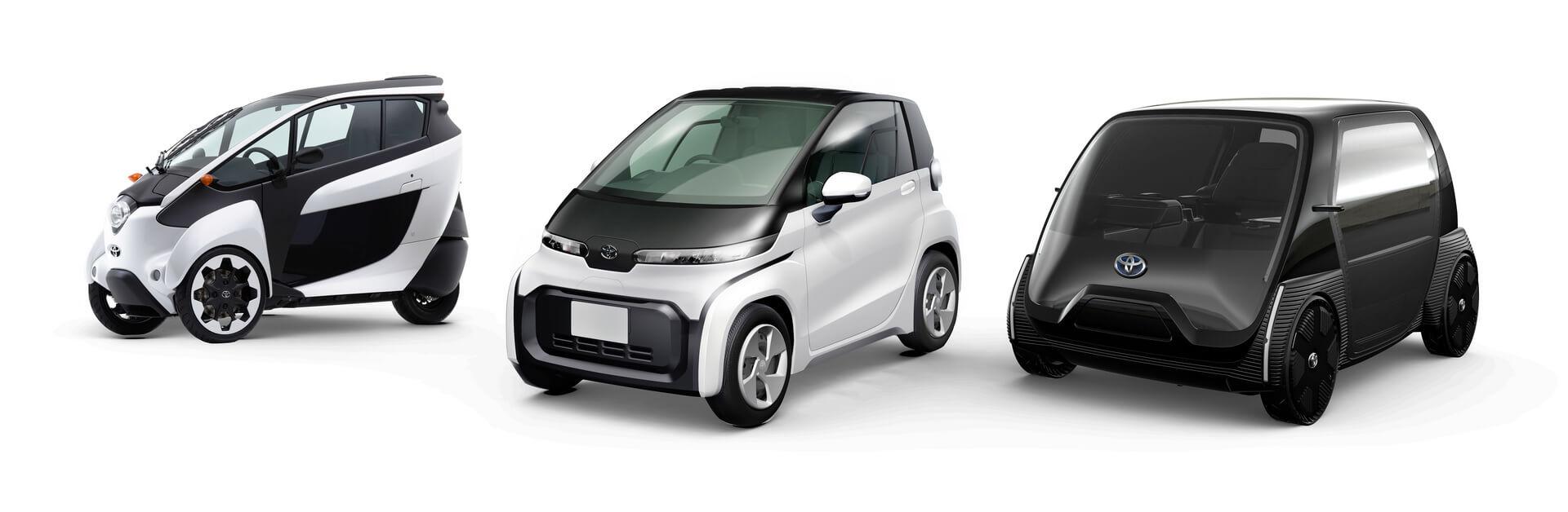Образы городских электромобилей Toyota