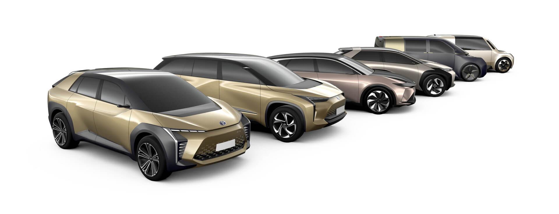 Концептуальные электромобили Toyota