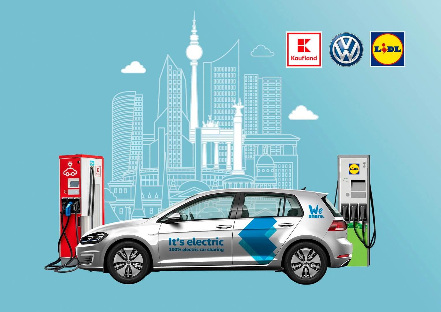Volkswagen и Schwarz Group станут стратегическими партнерами по зарядной инфраструктуре