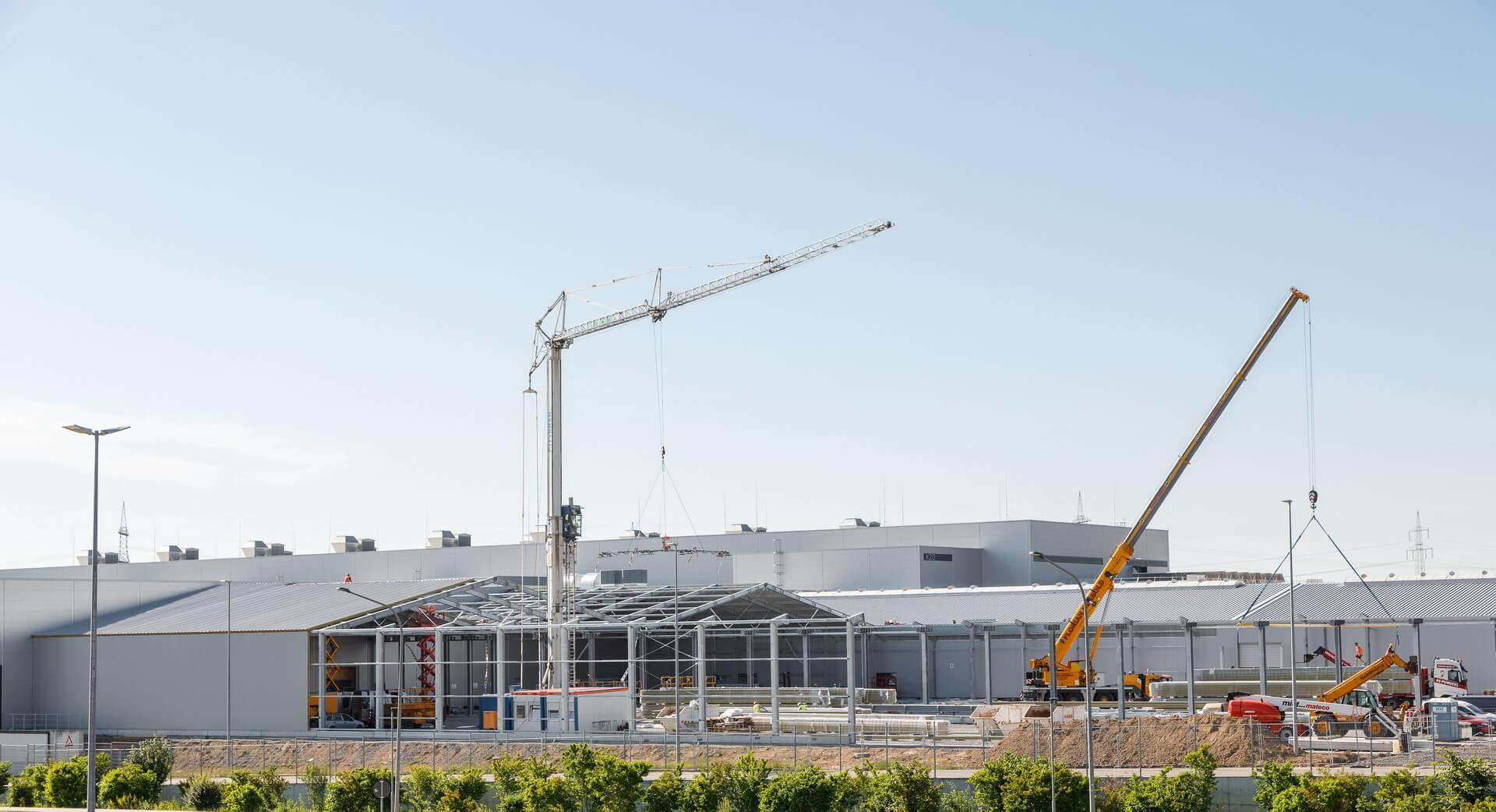 Ведется подготовка к производству Audi e-tron GT на производственных мощностях Audi Sport GmbH в Böllinger Höfe