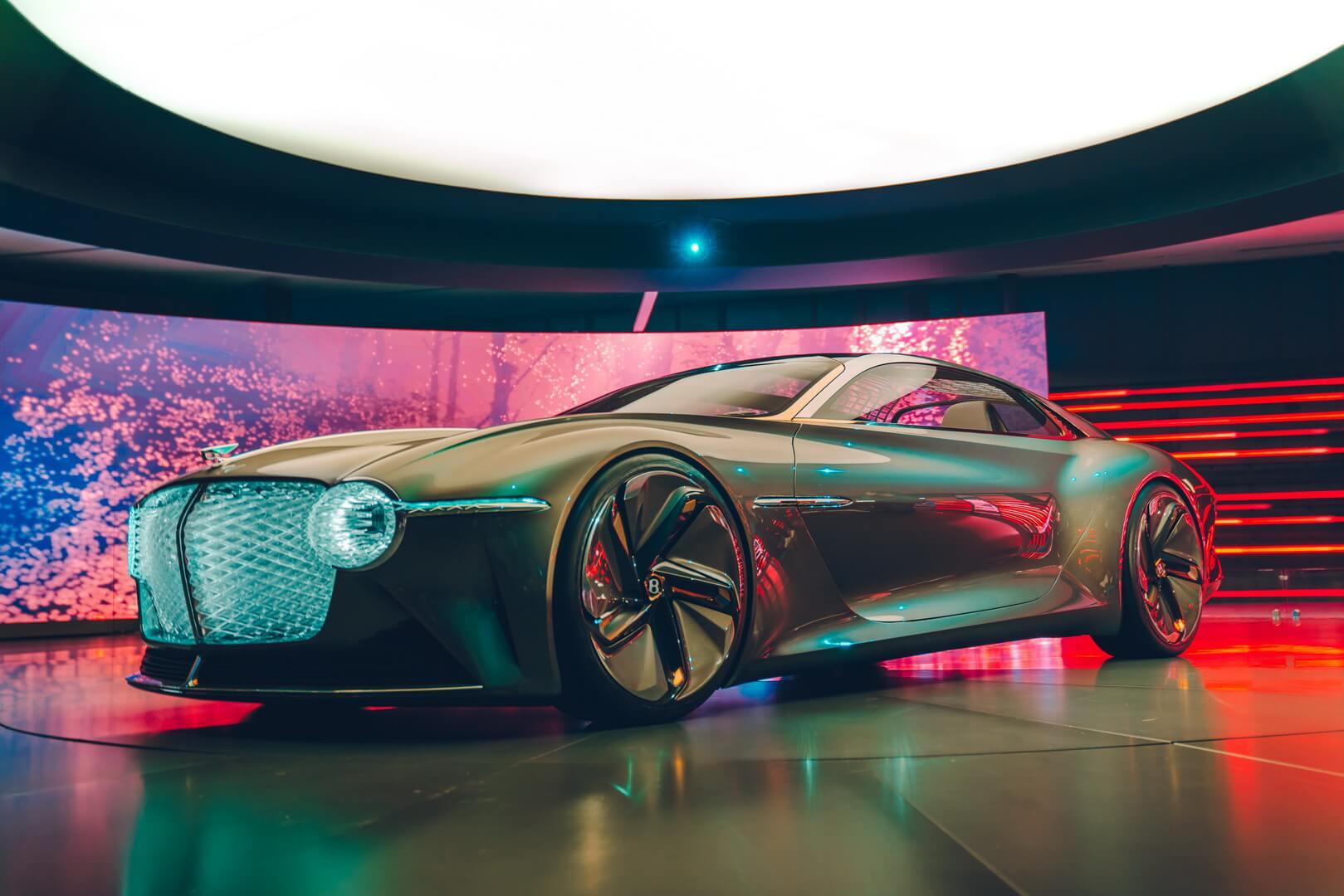 Bentley представляет свой полностью электрический концепт-кар EXP 100 GT