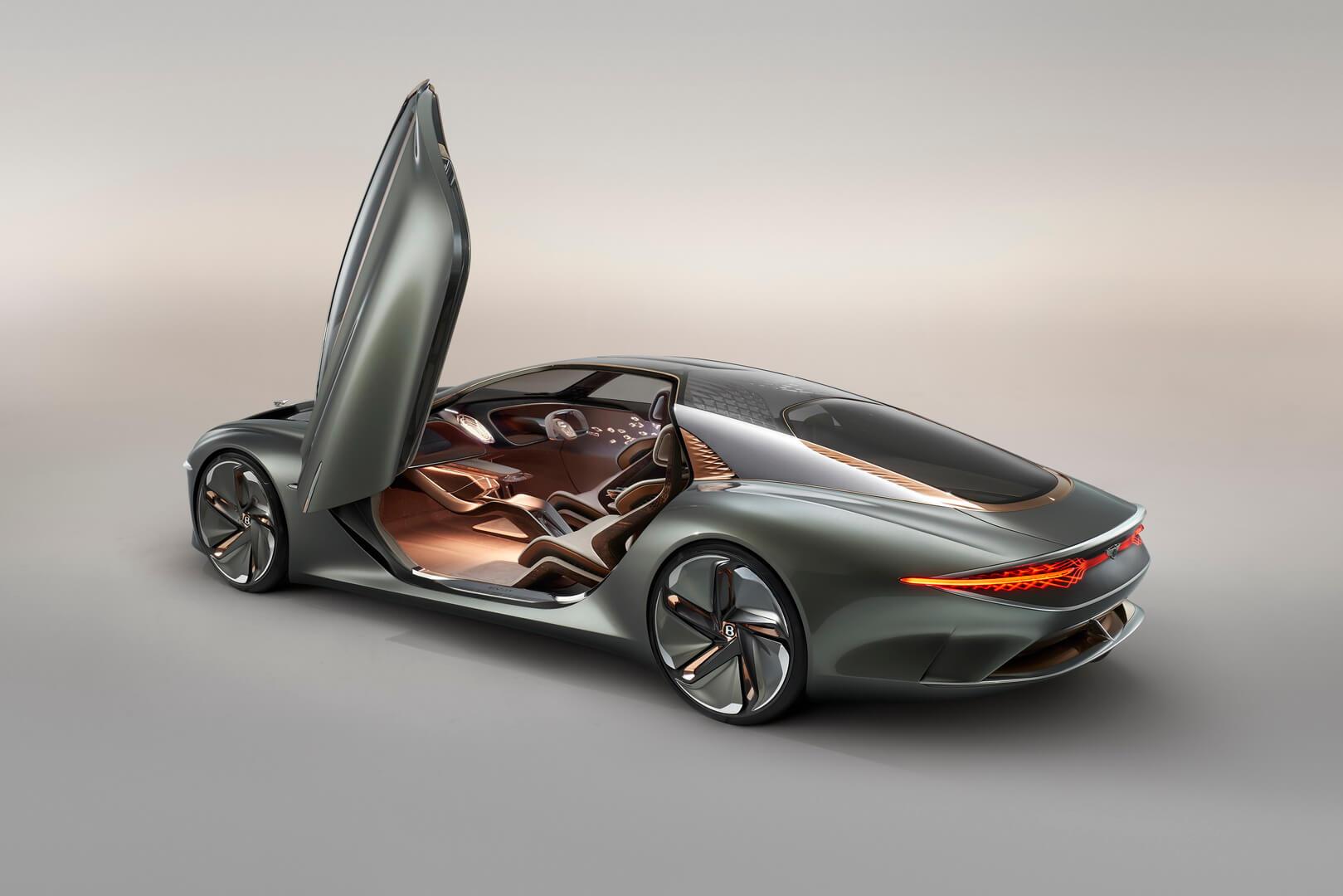 Электрический Bentley EXP 100 GT