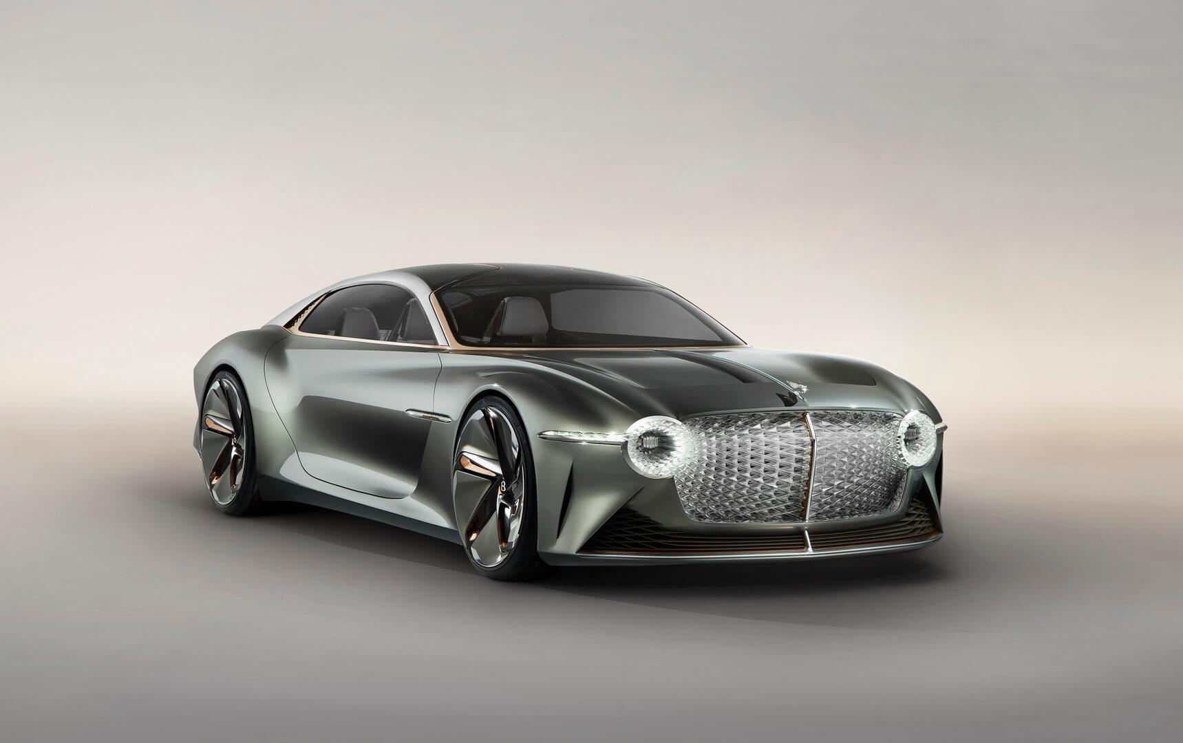 Электрический концепт Bentley EXP 100 GT