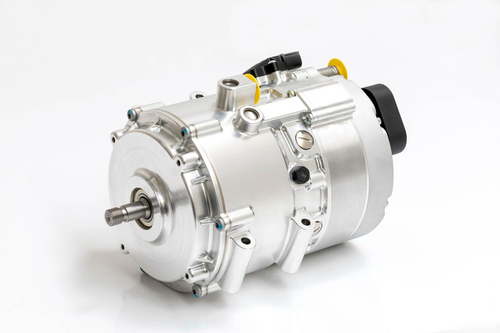 Мощный 48-вольтный электродвигатель с пиковой мощностью 30 кВт