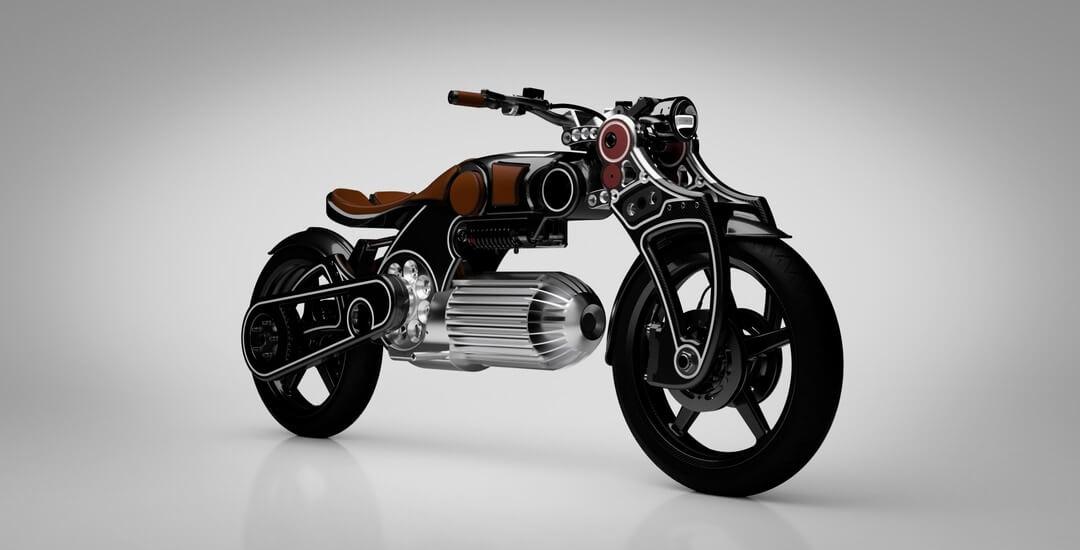 Curtiss представляет второй электрический мотоцикл