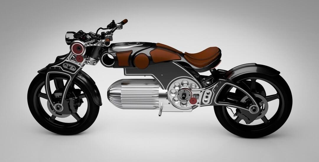 Электрический мотоцикл Curtiss Hades