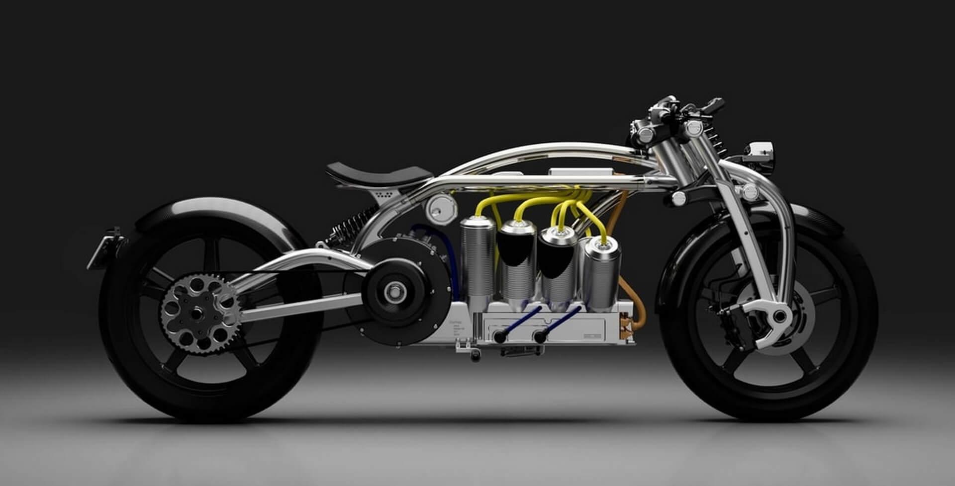 Электрический мотоцикл Curtiss Zeus
