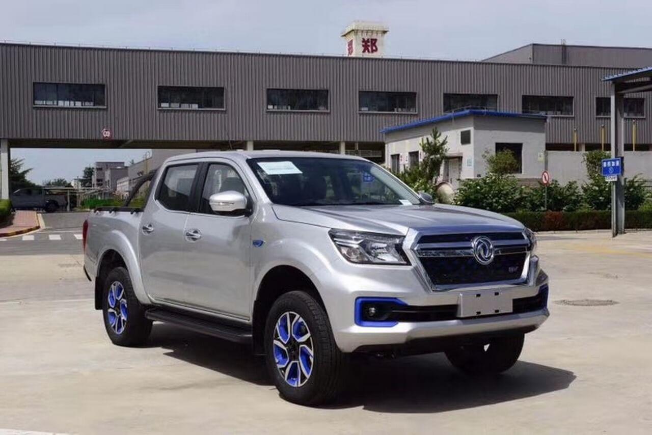 Nissan представил электрический пикап за $18 900 для Китая