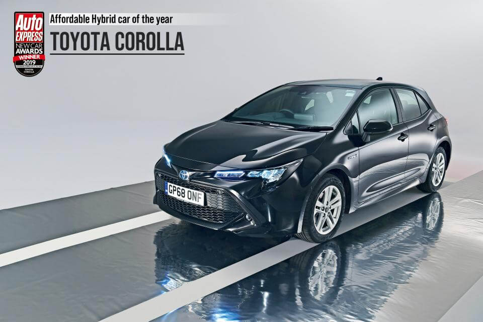 Гибрид Toyota Corolla