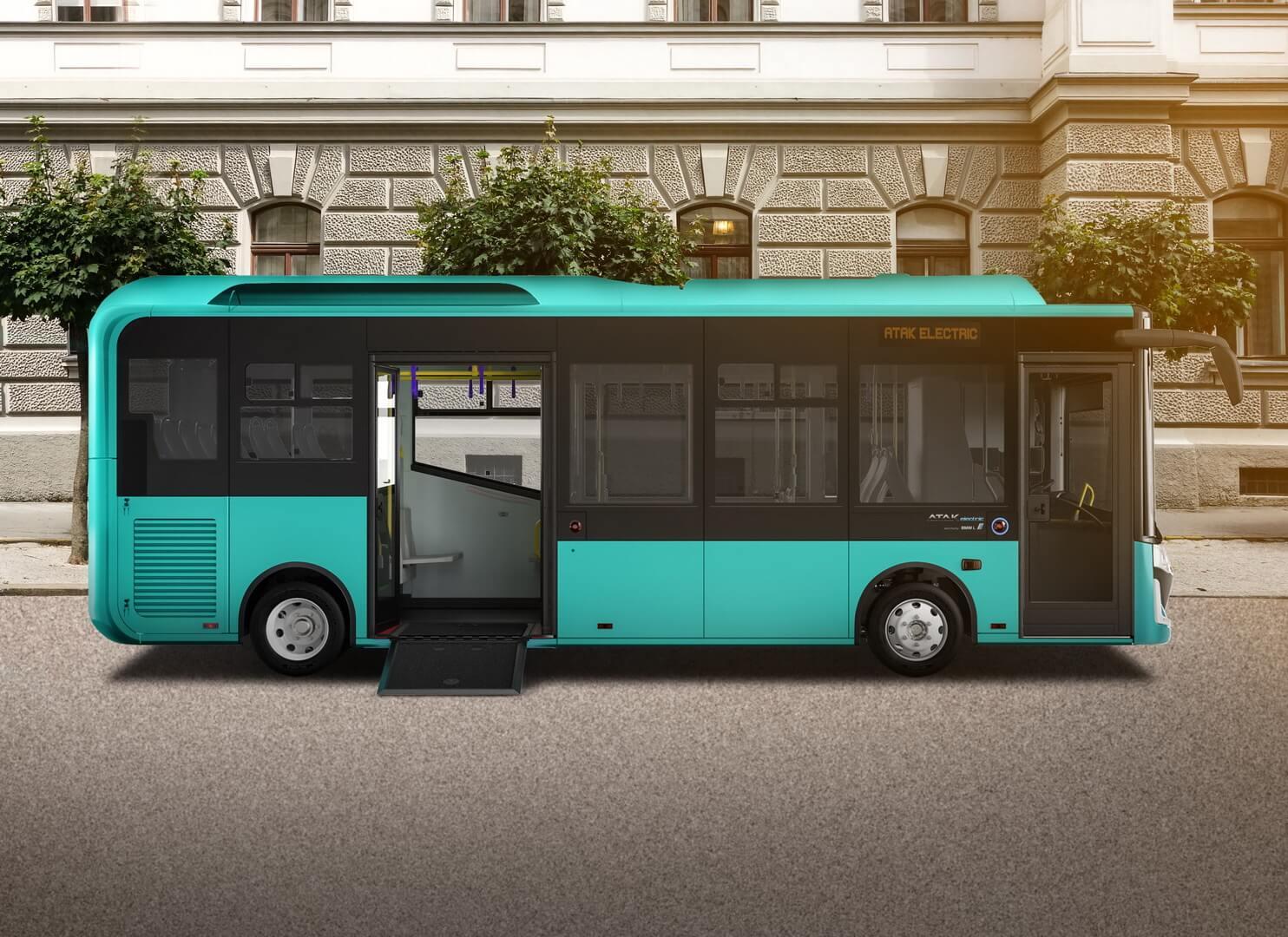 Электрический автобус Atak Electric