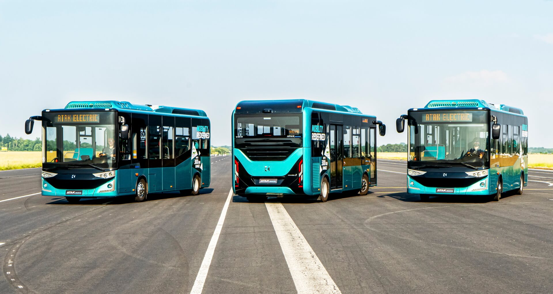 8-метровые электрические автобусы Atak Electric с батареями от BMW i3 и запасом хода300км