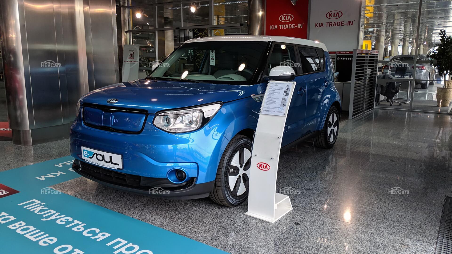 Электромобиль Kia Soul EV