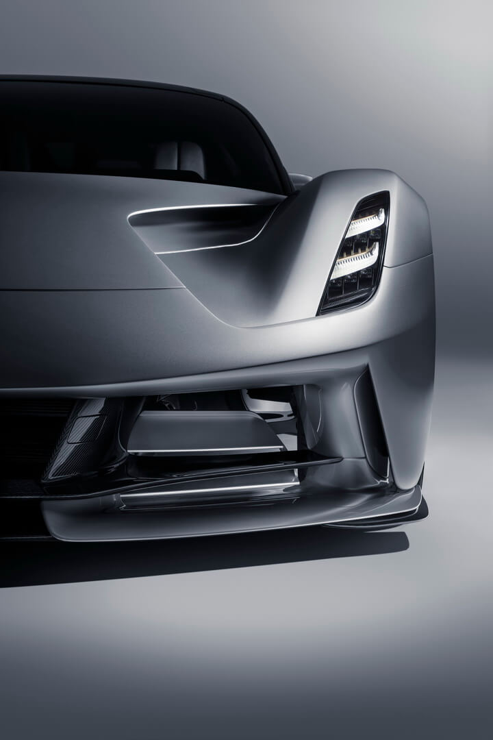 Элементы дизайна Lotus Evija