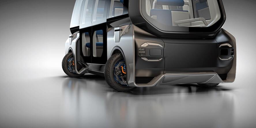 Независимые мотор-колеса Protean 360+ обеспечивают маневренность на 360 градусов