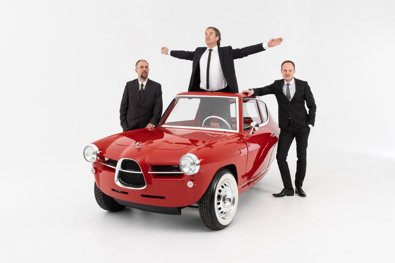 Эстонский стартап открывает предварительные заказы на трехколесный электромобиль Nobe 100