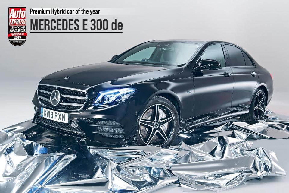Плагин-гибрид Mercedes-Benz E 300de