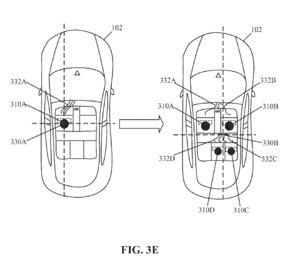 Патент персонализации пассажиров в Tesla Model 3 - фото 4