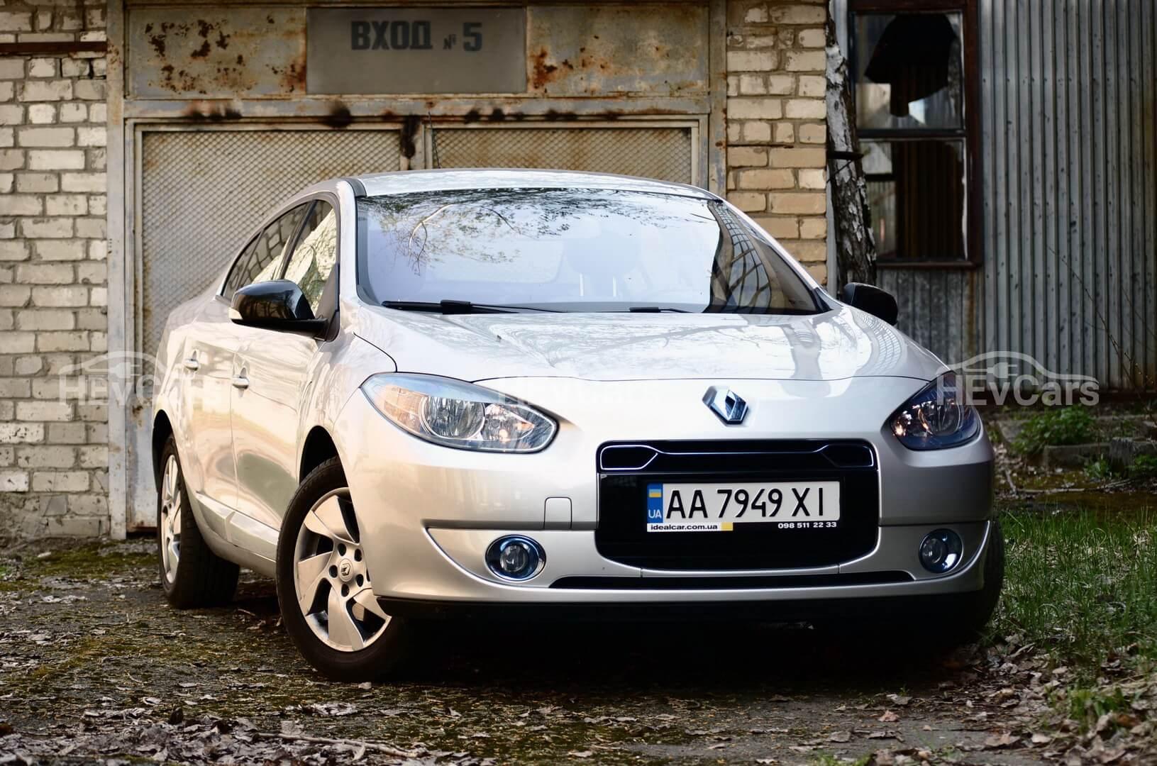 Электромобиль Renault Fluence Z.E.