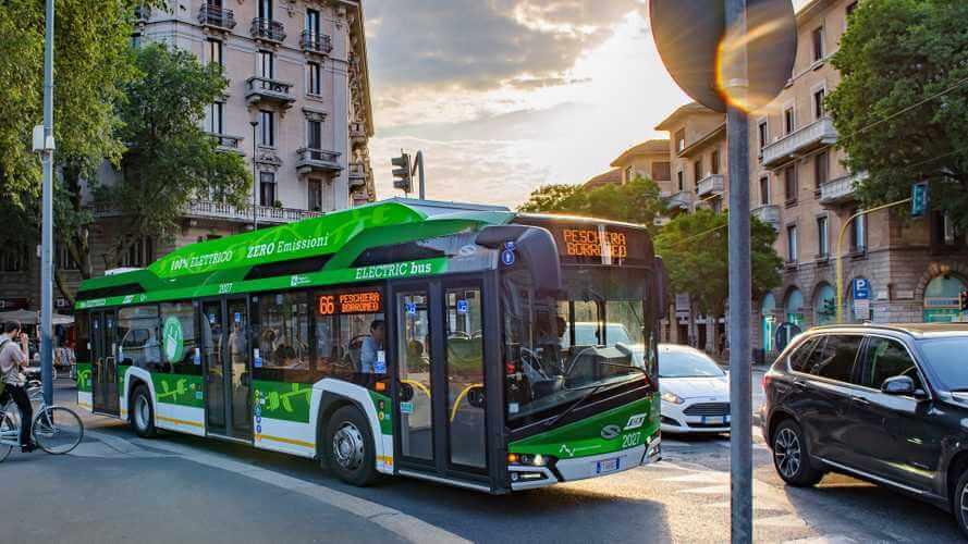 25 электрических автобусов Solaris Urbino 12 Electric уже используются в Милане