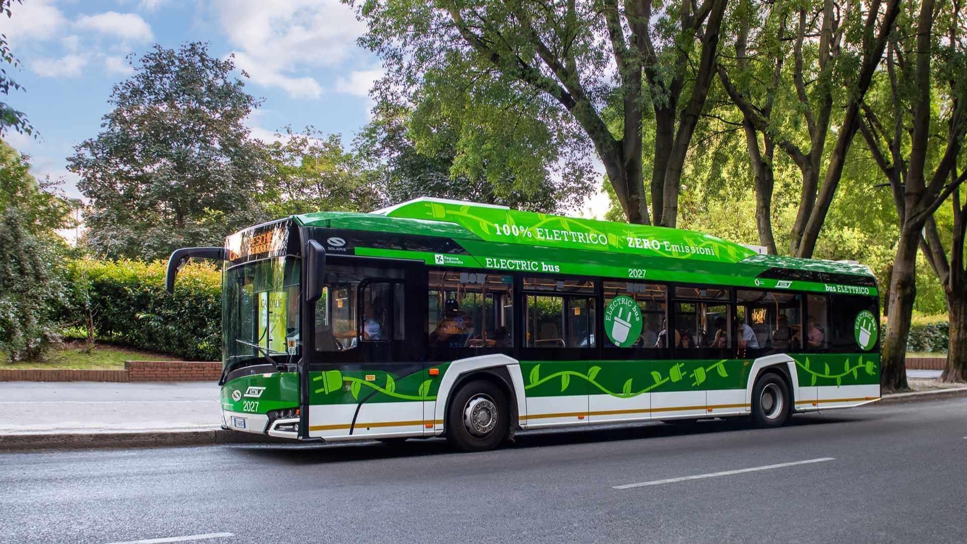 Электрический автобус Solaris Urbino 12