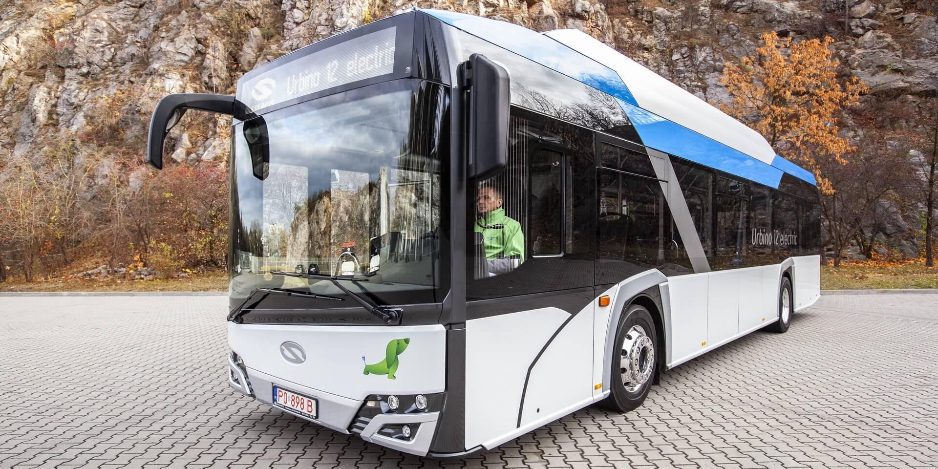 Электрический автобус Solaris Urbino 12 Electric