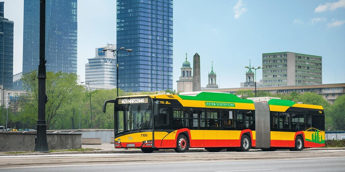 Электрический автобус Solaris Urbino 18 Electric