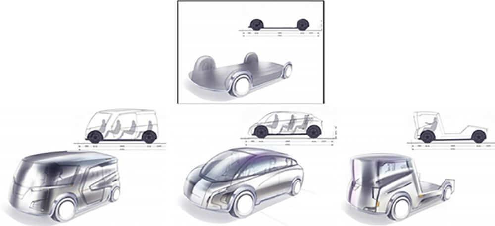 Модульная архитектура скейтборда призвана революционизировать дизайн электромобилей в будущем