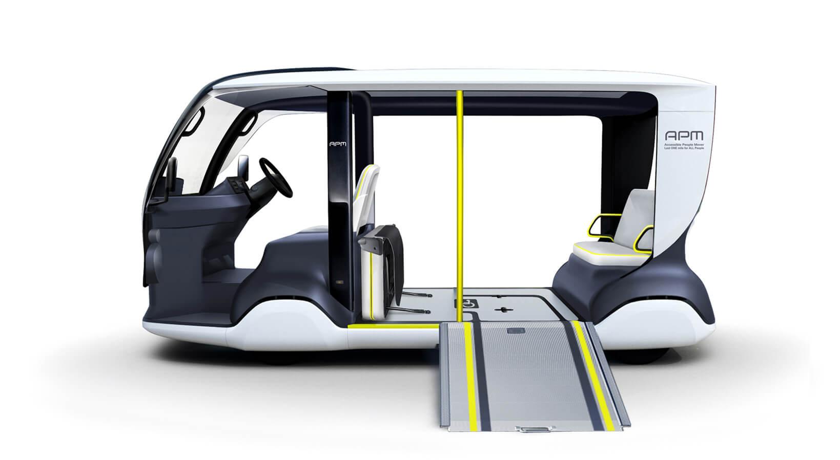 Toyota APM: электрокар для Олимпийских игр 2020 в Токио