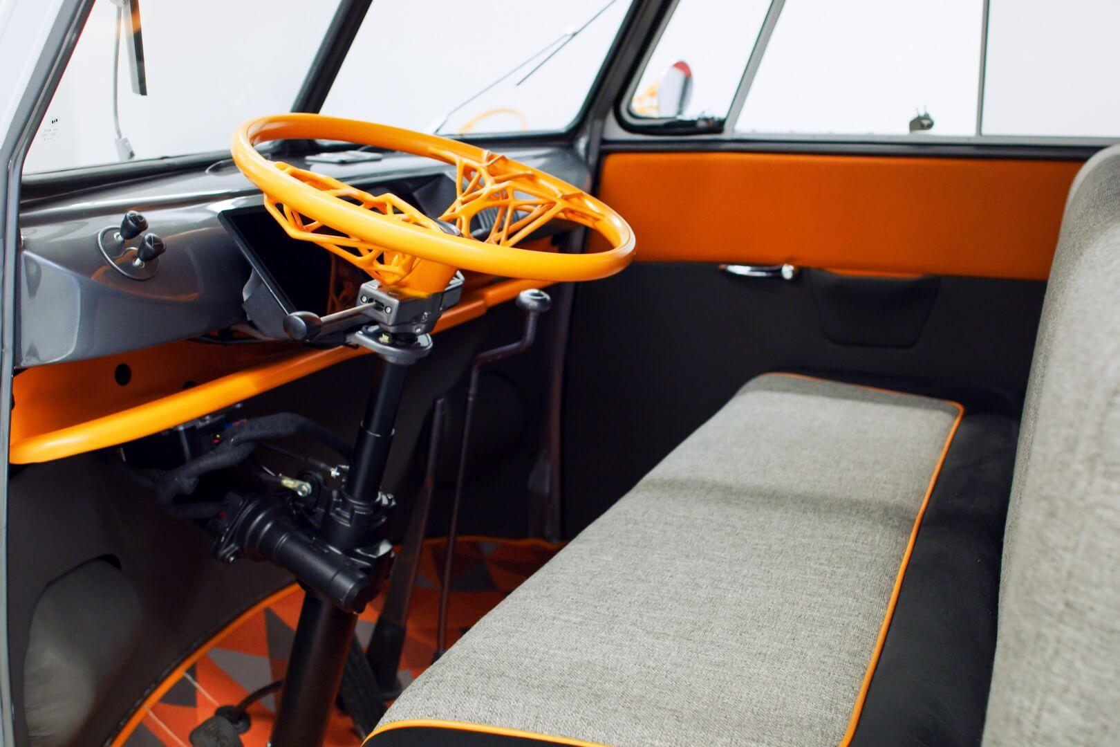 Салон электрического концепта Volkswagen Type 20