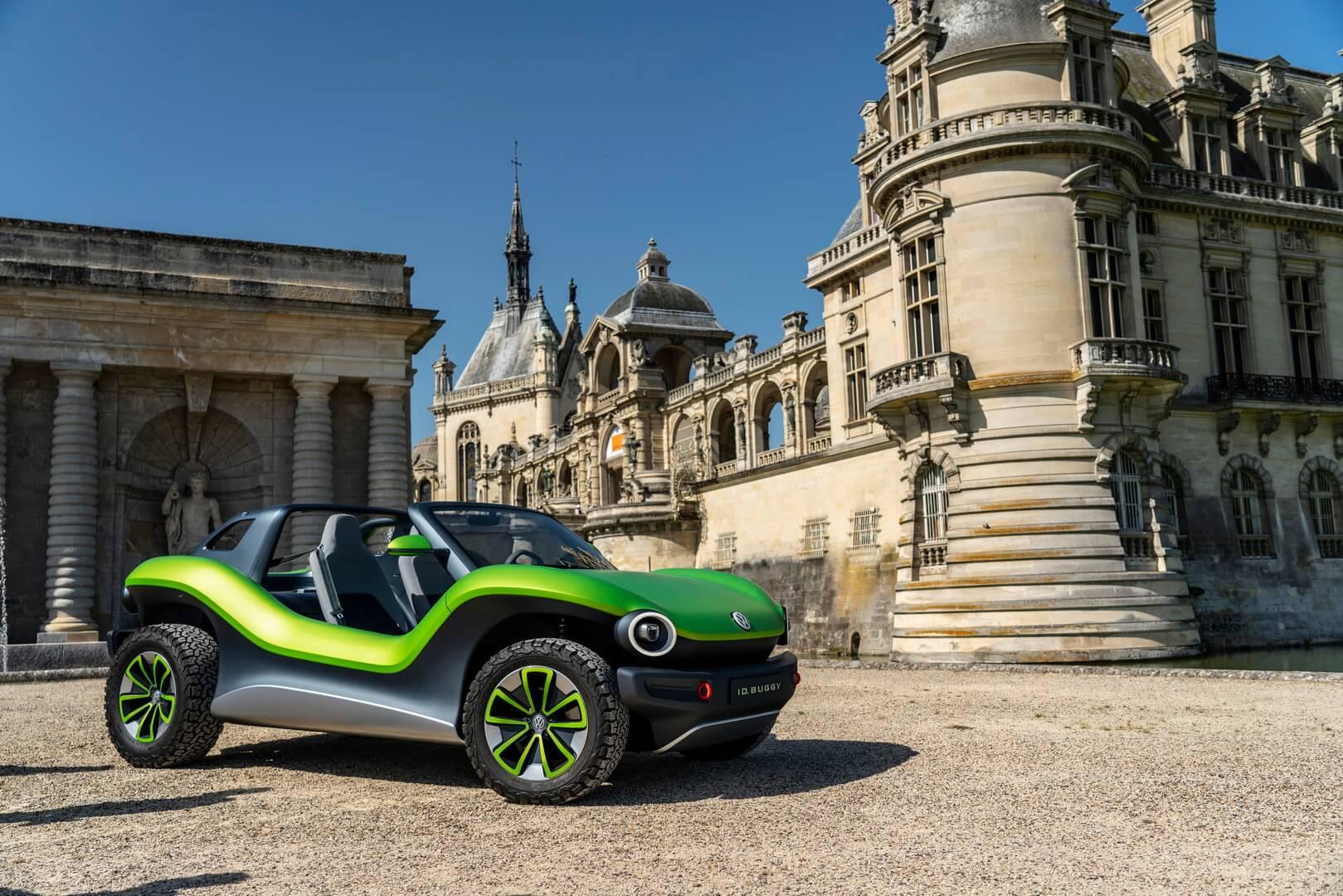 Полностью электрическая версия нового багги от Volkswagen на платформе MEB