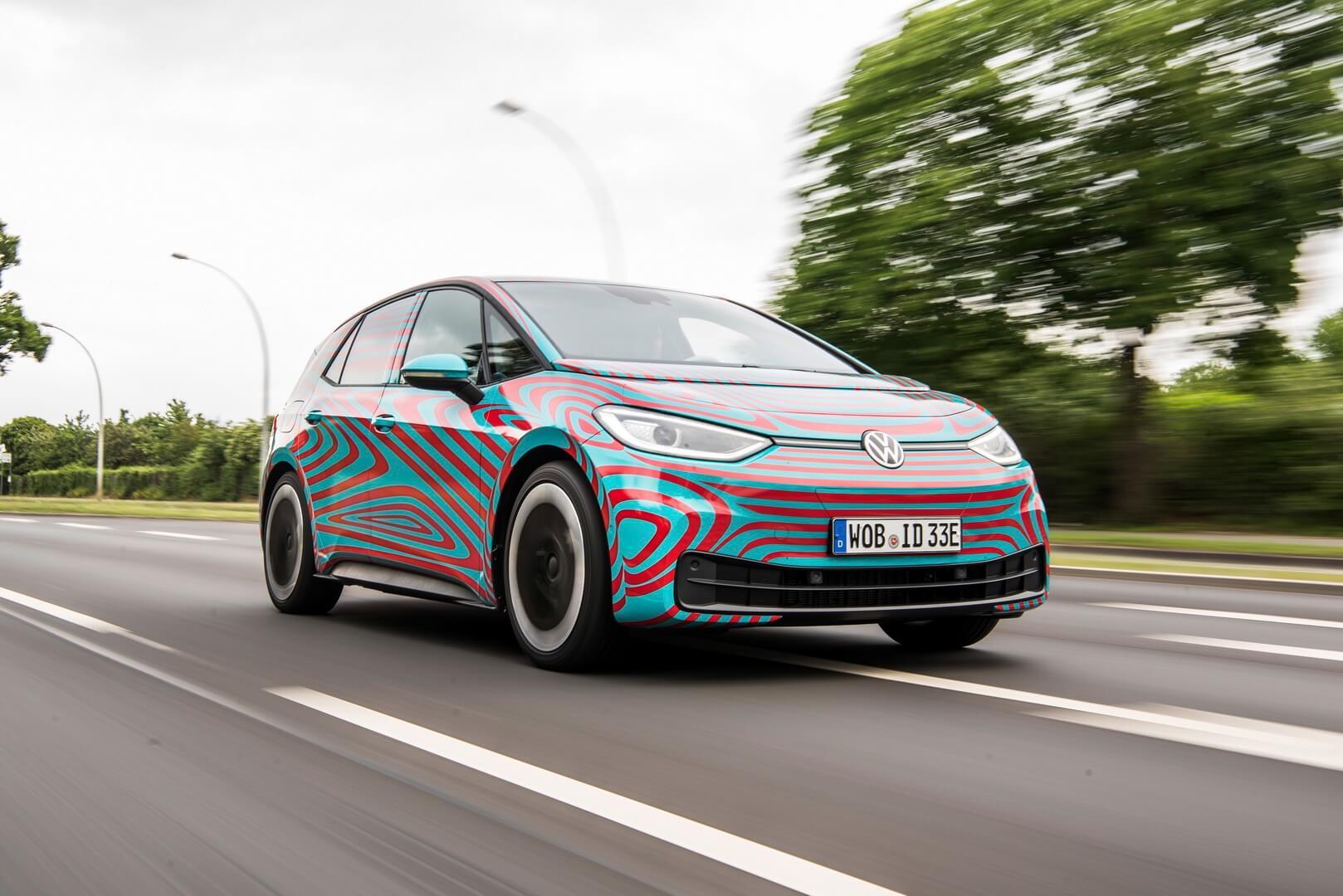 Volkswagen начал производство компонентов для электромобиля ID.3