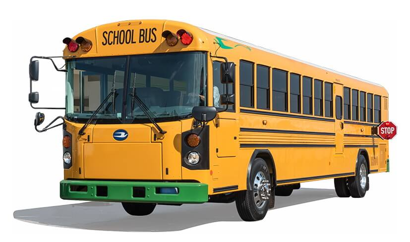 Электрический автобус школьный All American REElectric