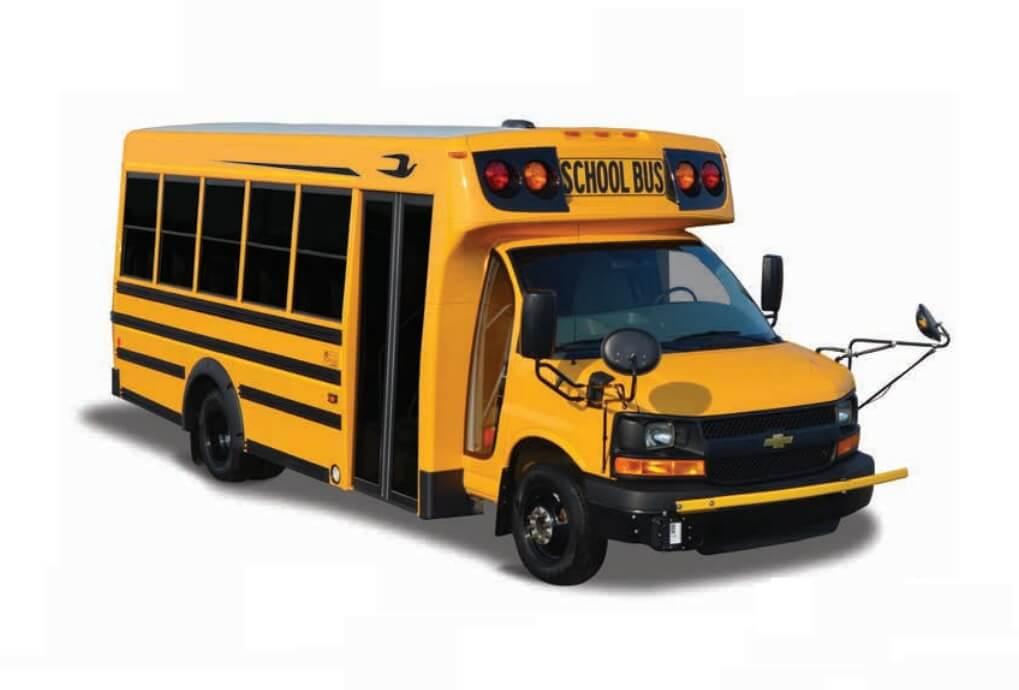 Электрический автобус школьный Micro Bird G5Electric