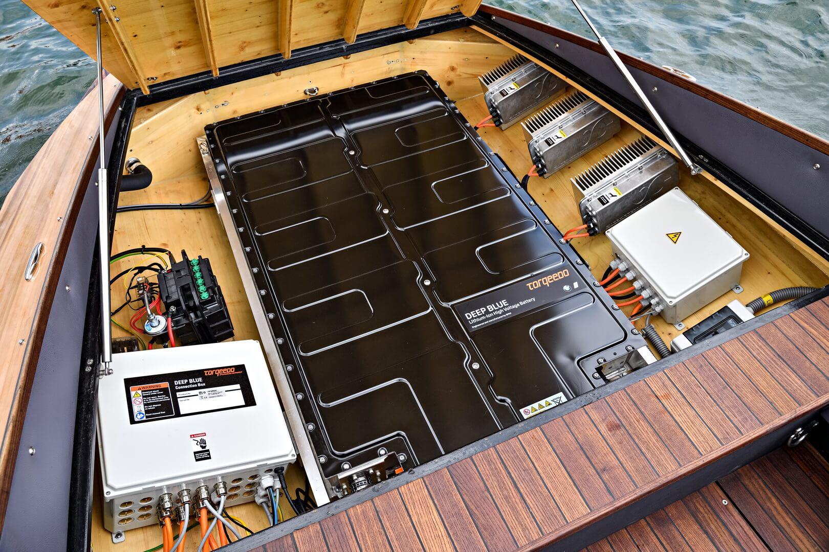 Батарейный модуль BMW i3 в лодках Torqeedo