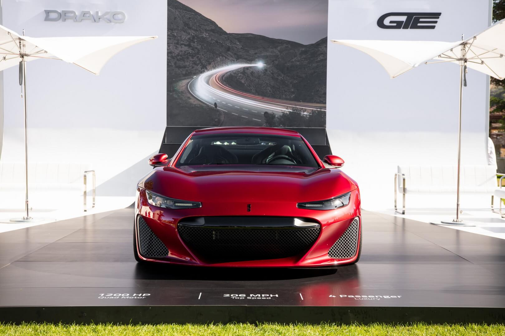 Drako GTE дебютировал на автомобильной неделе в Монтерее