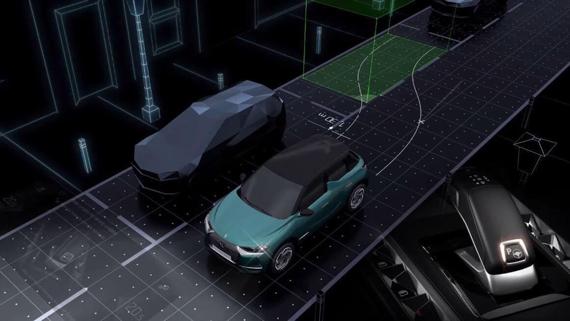 Системы безопасности электромобиля DS 3 Crossback